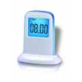 Push Panel Color-Changing LCD Clock